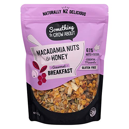 Macadamia Honey and Nuts Premium P Free Gluten Muesli Time Online limited product sale Cereal