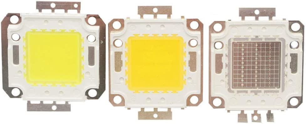 10W 20W 30W 50W 100W Blanco / Blanco cálido / Luz LED RGB DC 9V-38V COB Chip de lámpara LED integrado Bombilla de foco reflector DIY-RGB_20W