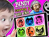 Bendy & The Ink Machine Chapter 3 Pt. 4: Learn Colors w/Bendy + Chapter Ending