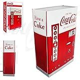 Coca Cola Automat Lámpara de mesa retro 42cm