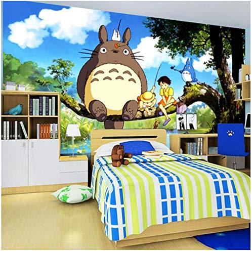 Achtergrondfoto 3D wallpaper woonkamer leuke anime-muurschildering zijde behang aangepast groot fotobehang kunst ruimtedecoratie kinderkamer plafond slaapkamer