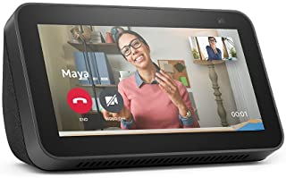 All-new Echo Show 5 (2nd Gen, 2021 release)   Smart display with Alexa and 2 MP camera   Charcoal