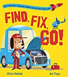 Find, Fix, Go!: Become an engineer for the day in this interactive STEAM book for vehicle-loving children aged 3+ years!