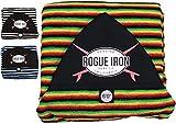 Rogue Iron Sports Surf Sock (Rasta, 6')