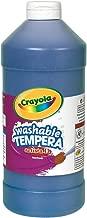 Crayola Artista II Washable Tempera Paint 16oz Blue