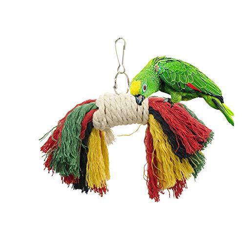 ZUOLUO Juguetes Agapornis Juguetes para Pajaros Agapornis Cockatiel Juguetes Juguetes De pájaros para pájaros Loro Loro de Juguete Loro Perchas