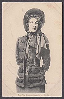 The Field Commissioner Miss Eva Booth Salvation Army postcard 1900s