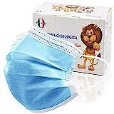 100 Stück medizinische Masken Kinder,OP Masken Kinder CE zertifiziert und atmungsaktiv(typ iir), 3-lagigeMundbedeckung,Bunte Einweg-Masken,Mund-Nasen-Masken geeignet alsKindermasken