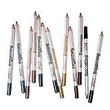 joyMerit 12 Farben Lipliner Wasserdichte Lip Liner Lippenstift Lippenkonturenstift,