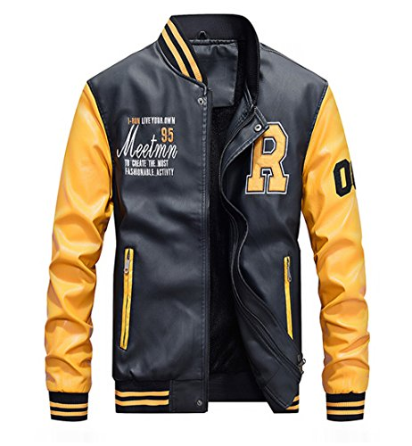 Yellow Bomber Jackets Mens
