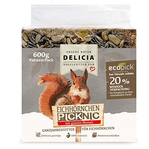 Delicia PICKNIC Eichhörnchen VakuumPack 600g