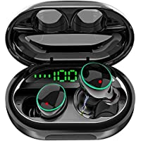 Wewow Bluetooth 5.0 IPX8 Waterproof Stereo Headphones with Microphone