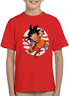 Cloud City 7 Dragon Ball Z Cute Goku Tail Kid's T-Shirt