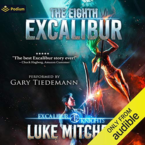 The Eighth Excalibur Audiobook By Luke Mitchell cover art