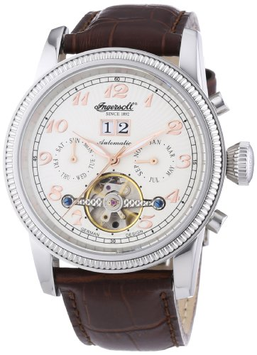 Ingersoll Herren-Armbanduhr RichmondII Analog Automatik IN1801WH