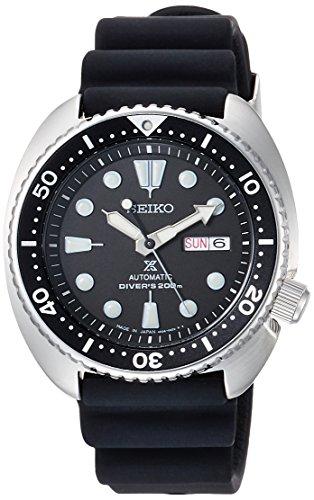 [セイコーウォッチ] 腕時計 プロスペックス メカニカル DIVER SCUBA ブラック文字盤 シリコンバンド SBDY015 メンズ ブラック