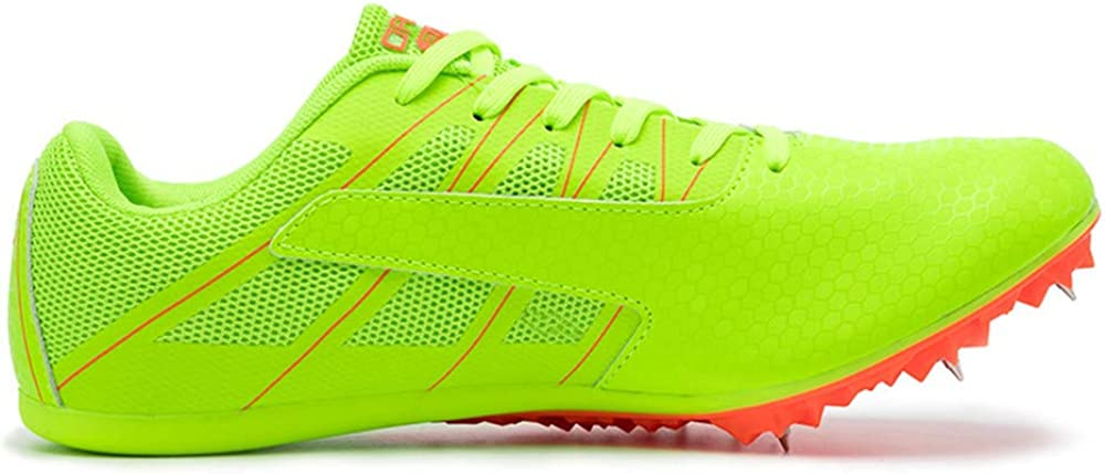 BETOOSEN Track Spike Running Sprint Shoes Track and Field Shoes Mesh Breathable Lightweight Professional Athletic Shoes Boys, Girls,Womens, Mens