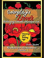 Onvergetelijke Zomer Kleurboek voor Volwassenen en Senioren: Easy Bloemen Meditatie Grote Print