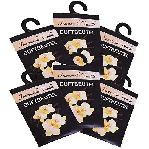 HS Candle Duftbeutel 6er Pack in der Duftrichtung Französische Vanille