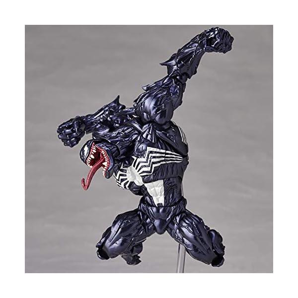Venom Eddie Brock Venom Figura de acción Modelo de Juguete para niños Juegos Decoración Juguetes para niños para niños… 3