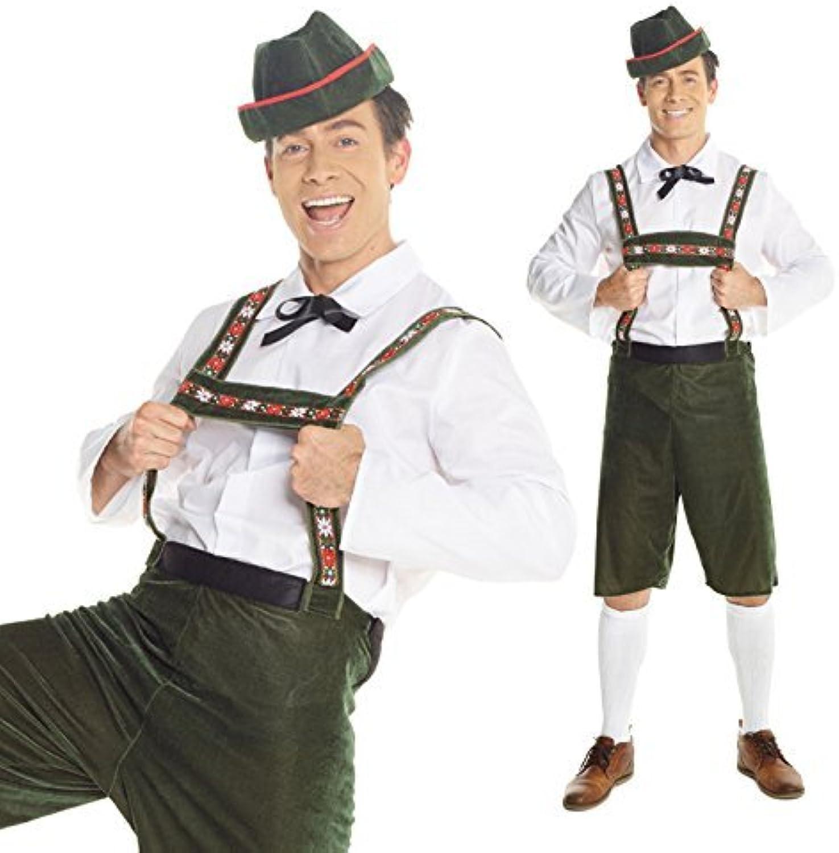 Centro comercial profesional integrado en línea. Mens Lederhosen Costume, German Oktoberfest Fancy Dress Costume by Morph Morph Morph Costumes  marca de lujo