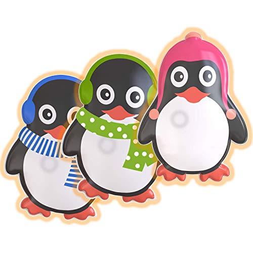 Hook Taschenwärmer Handwärmer Pinguin Kinder [3er Set] Taschen Wärmer, 2020 Übergroß Wiederverwendbar Handwärmer Knick Langanhaltende Wärme für kalte Hände für Unterwegs