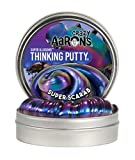 Crazy Aaron's Thinking Putty 4' Tin - Super Illusions Super Scarab - Multi-Color Putty, Soft Texture - Never Dries Out