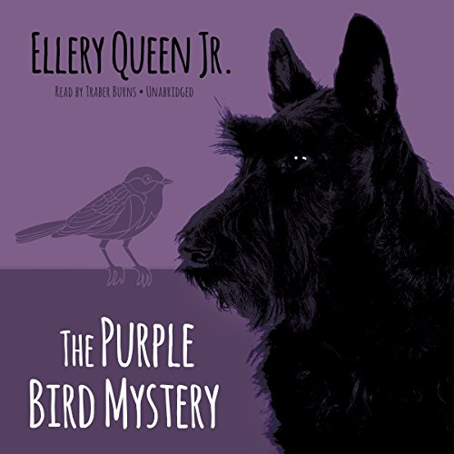 The Purple Bird Mystery audiobook cover art