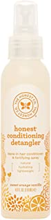 The Honest Company Sweet Orange Vanilla Conditioning Detangler Spray  Lightweight..