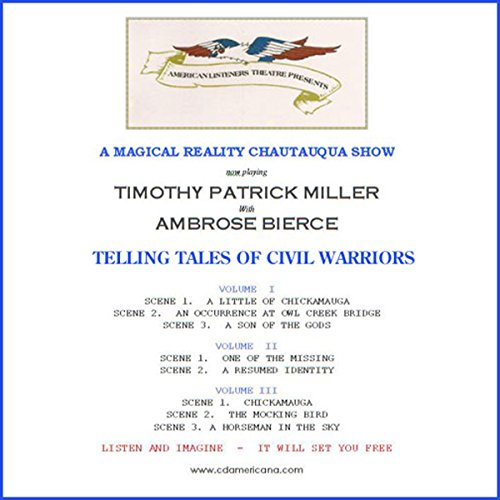 Telling Tales of Civil Warriors                   Auteur(s):                                                                                                                                 Ambrose Bierce                               Narrateur(s):                                                                                                                                 Timothy Patrick Miller                      Durée: 3 h et 6 min     Pas de évaluations     Au global 0,0