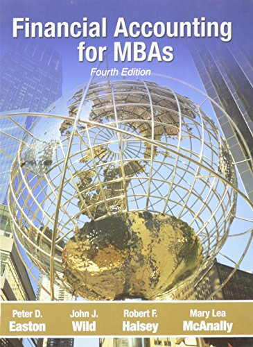 Financial Accounting for Mbas