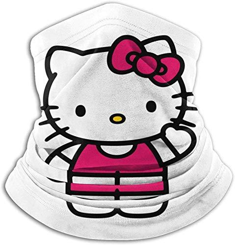 Bandanas Hello-Kitty - Pasamontañas para el cuello, reutilizable, transpirable, protección facial para mujeres, adultos, niños y niñas