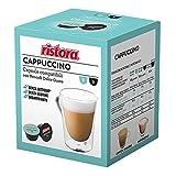 Ristora - Cápsulas de café compatibles con Dolce Gusto, capuchino descafeinado, no contiene...