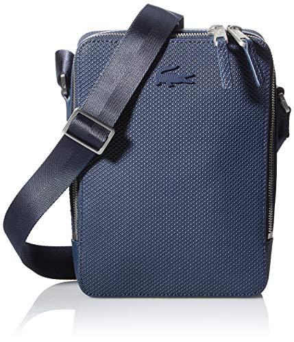 Lacoste Nh3271ce - Bolso bandolera para hombre, talla única, Azul (azul marino), Talla única