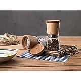 WMF Gewürzmühlen-Set 2-teilig Ceramill Nature  mit Mahlwerk aus Keramik - 10
