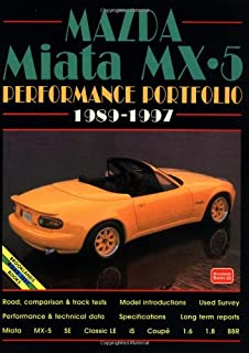 Mazda Miata MX5 Performance Portfolio, 1989-1997