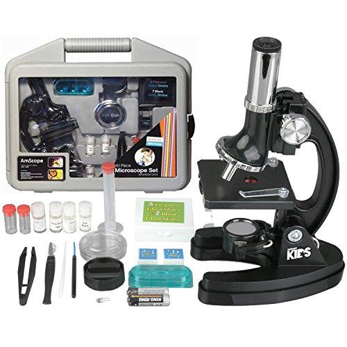AmScope-KIDS M30-ABS-KT51 120X-240X-300X-480X-600X-1200X Microscopio, brazo...