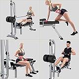 CKR Folding Fitness Magnetische Rudergerät, Einstellbarer Widerstand Rower, Mit Kurzhantel Bankdesign, Übung Fitnessgeräten - 3