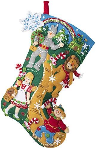Bucilla Felt Stocking KIT Xmas, Christmas in Oz
