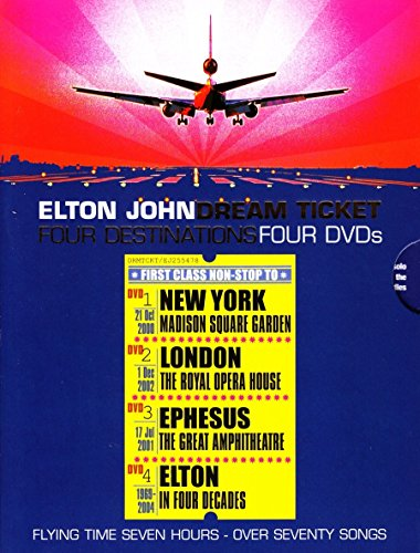 Elton John - Dream Ticket [4 DVDs]