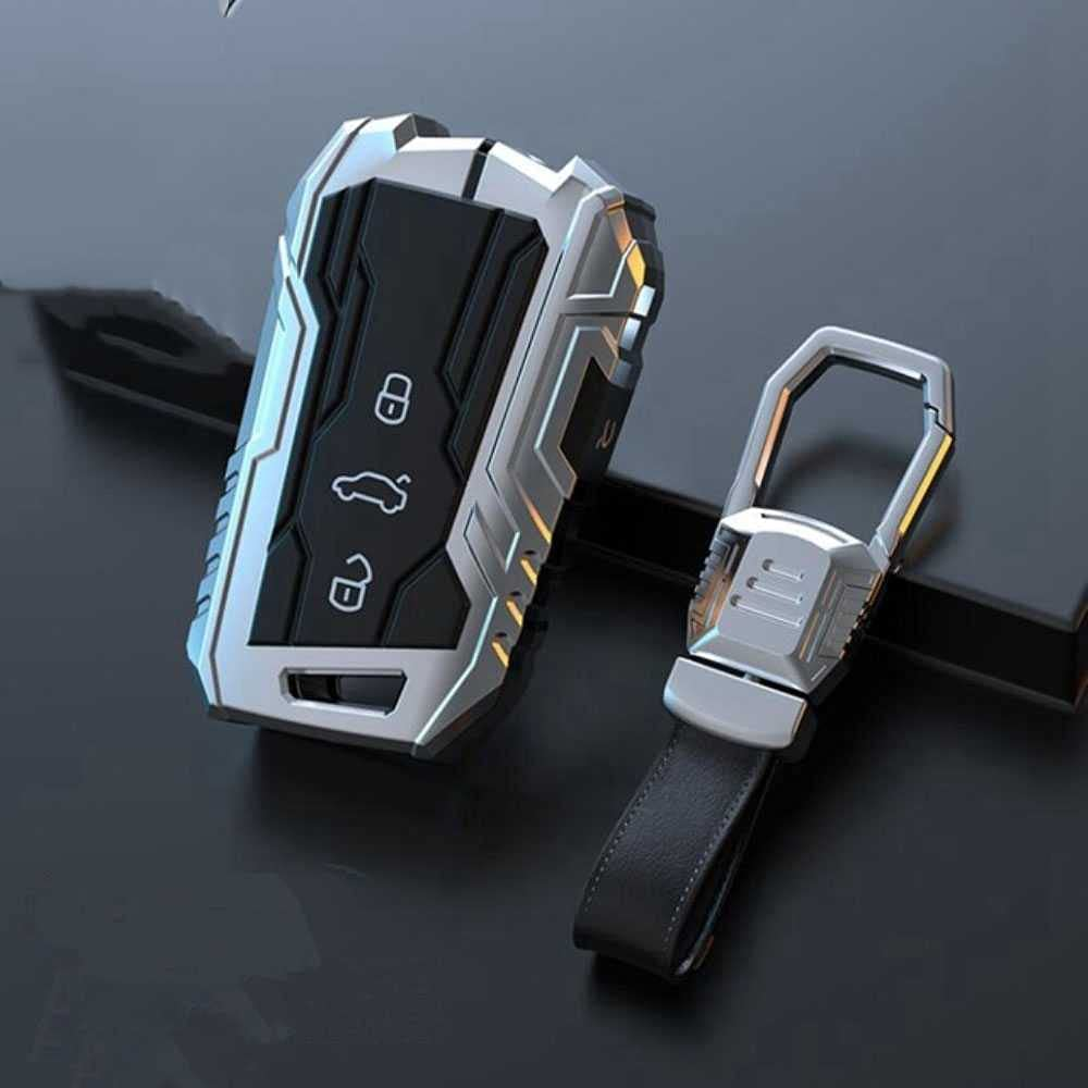 ZIMAwd Car Aluminum Alloy Key Protective Free shipping Fit Nashville-Davidson Mall Shell VW for Passat