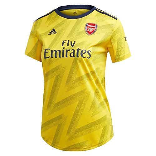 adidas Women's Arsenal FC Away Jersey 2019-20 (Large) EQT. Yellow
