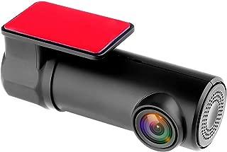 Lnicesky 1080P Hidden Car Camera WiFi DVR Dash Cam Recorder Camcorder Night Vision CAM Black