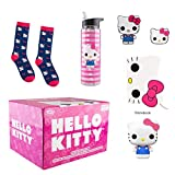 Funko Hello Kitty 45th Birthday Collectors Box with Pop! Vinyl Figure and Notebook, Patch, Pin, Socks & Water Bottle