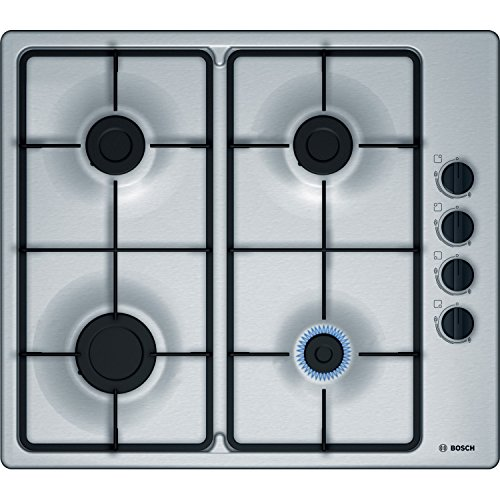 Bosch Stainless Steel Gas Hob with Integrated Controls (60 cm, Brass)