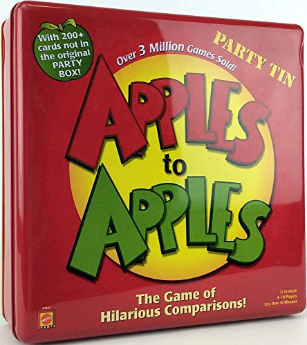 Apples to Apples: Party Tin
