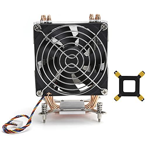 CPU Cooler Disipador de Calor Ventilador de enfriamiento de 90 mm con Tubo de Cobre de 4 Calor para LGA...