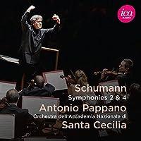 Schumann:Symphonies 2 & 4 [Orchestra dell'Accademia Nazionale di Santa Cecilia,Antonio Pappano] [ICA CLASSICS: ICAC 5139] by Orchestra dell'Accademia Nazionale di Santa Cecilia
