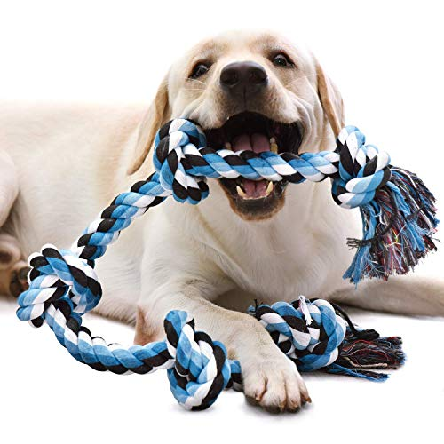 KILIKI Dog Rope Toys for Aggressive Chewers