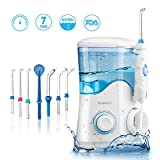 YOUNGDO Hydropulseur Jet Dentaire 600ML, Irrigateur Oral Professionnel Rechargeable...